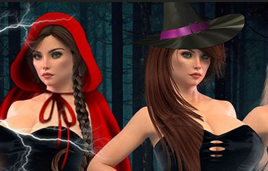 Wonderland Witches Adult Game Cover
