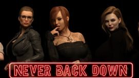 Never Back Down 18+ Adult game cover