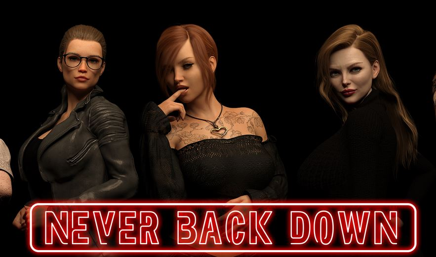 Never Back Down Adult Game Cover
