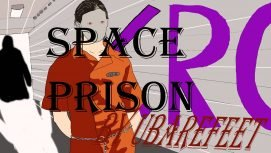SPACE PRISON 18+ Adult game cover