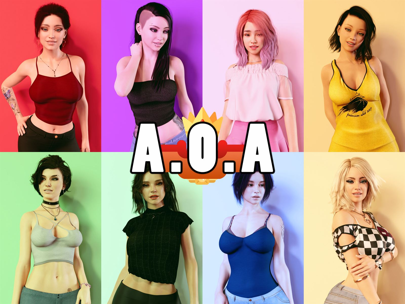 A.O.A. Academy Adult Game Cover
