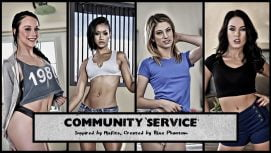 Community Service 18+ Adult game cover