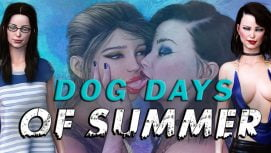 Dog Days of Summer 18+ Adult game cover
