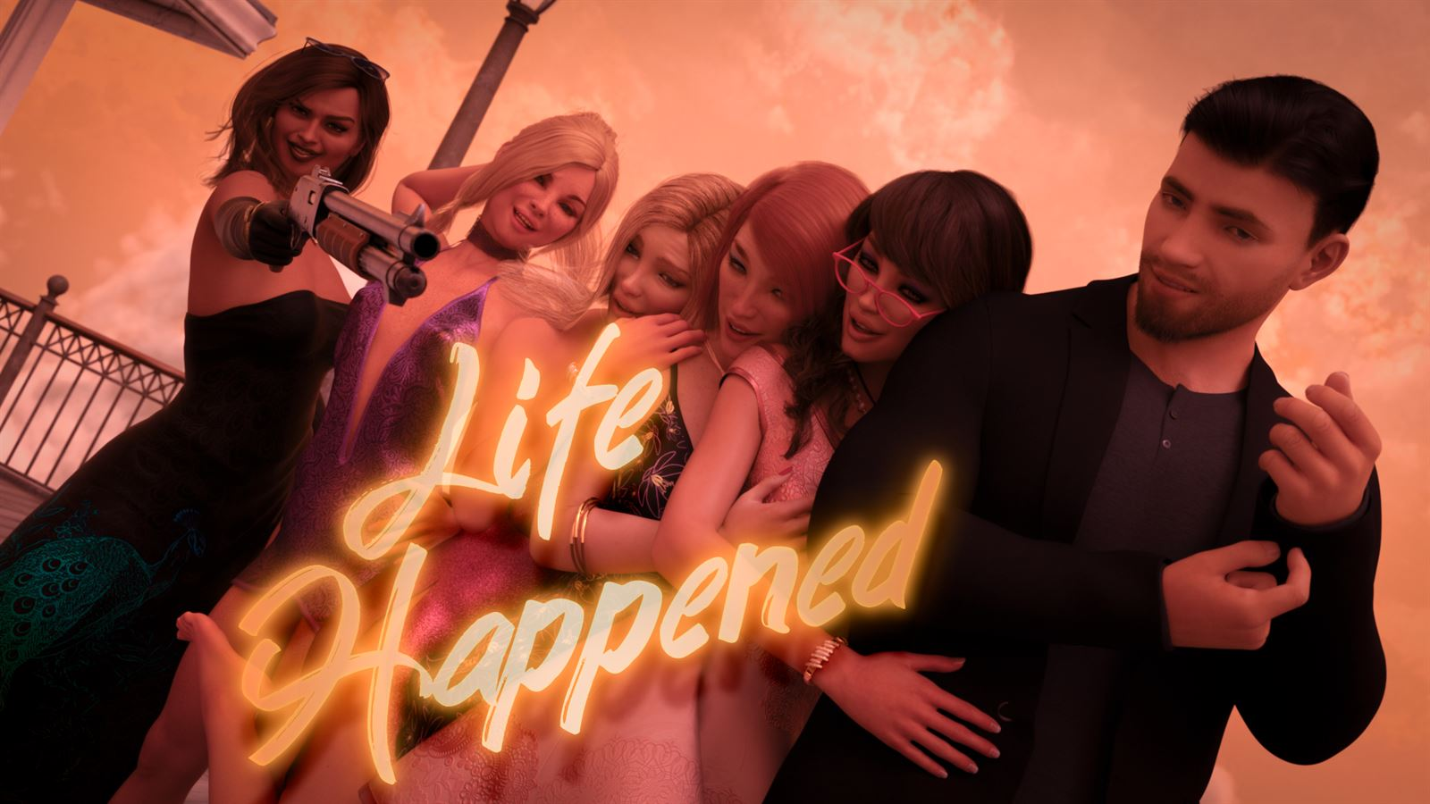 Life Happened Adult Game Cover