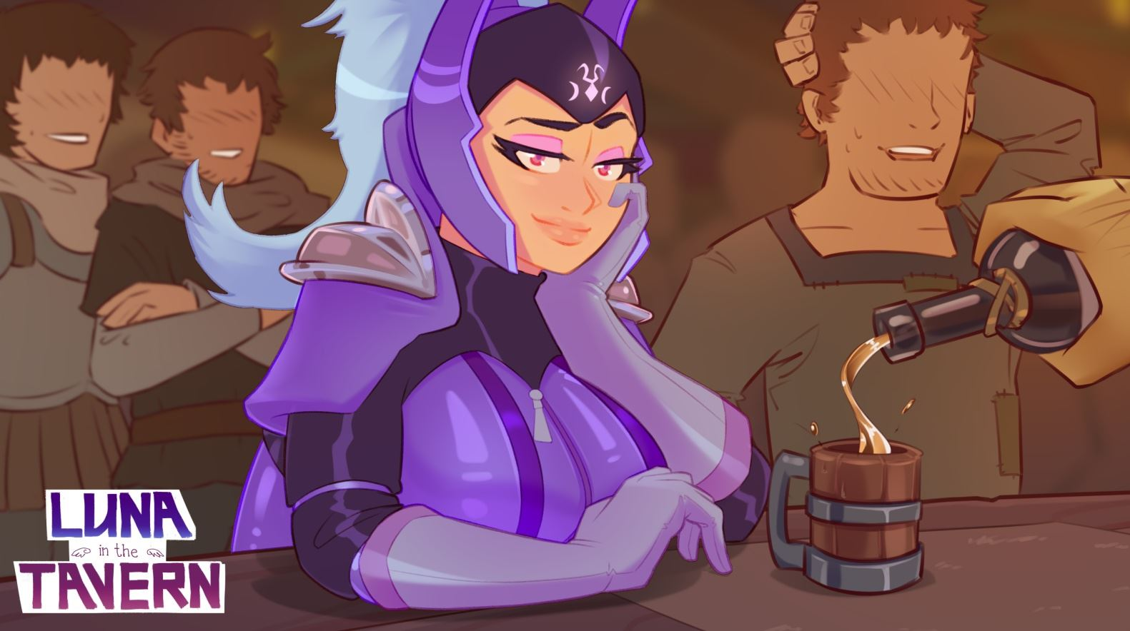 Luna in the Tavern