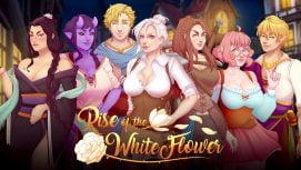 Rise of the White Flower 18+ Adult game cover