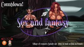 Sex and fantasy Village of centaurs 18+ Adult game cover