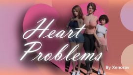 Heart Problems 18+ Adult game cover