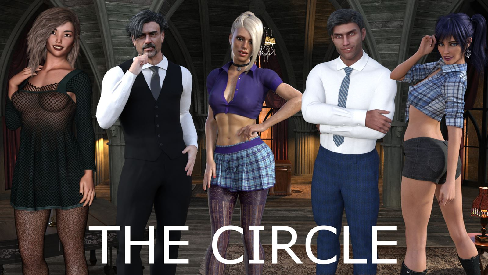 The Circle Adult Game Cover