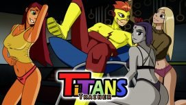Titans Trainer 18+ Adult game cover