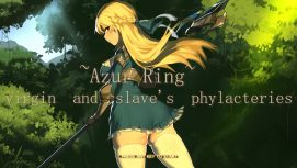 ~Azur Ring~ virgin and slave's phylacteries 18+ Adult game cover