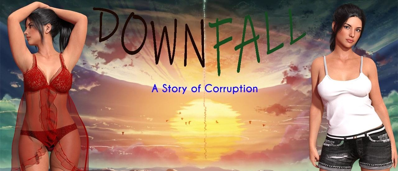 Downfall: A Story Of Corruption Adult Game Cover
