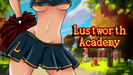 Lustworth Academy 18+ Adult game cover