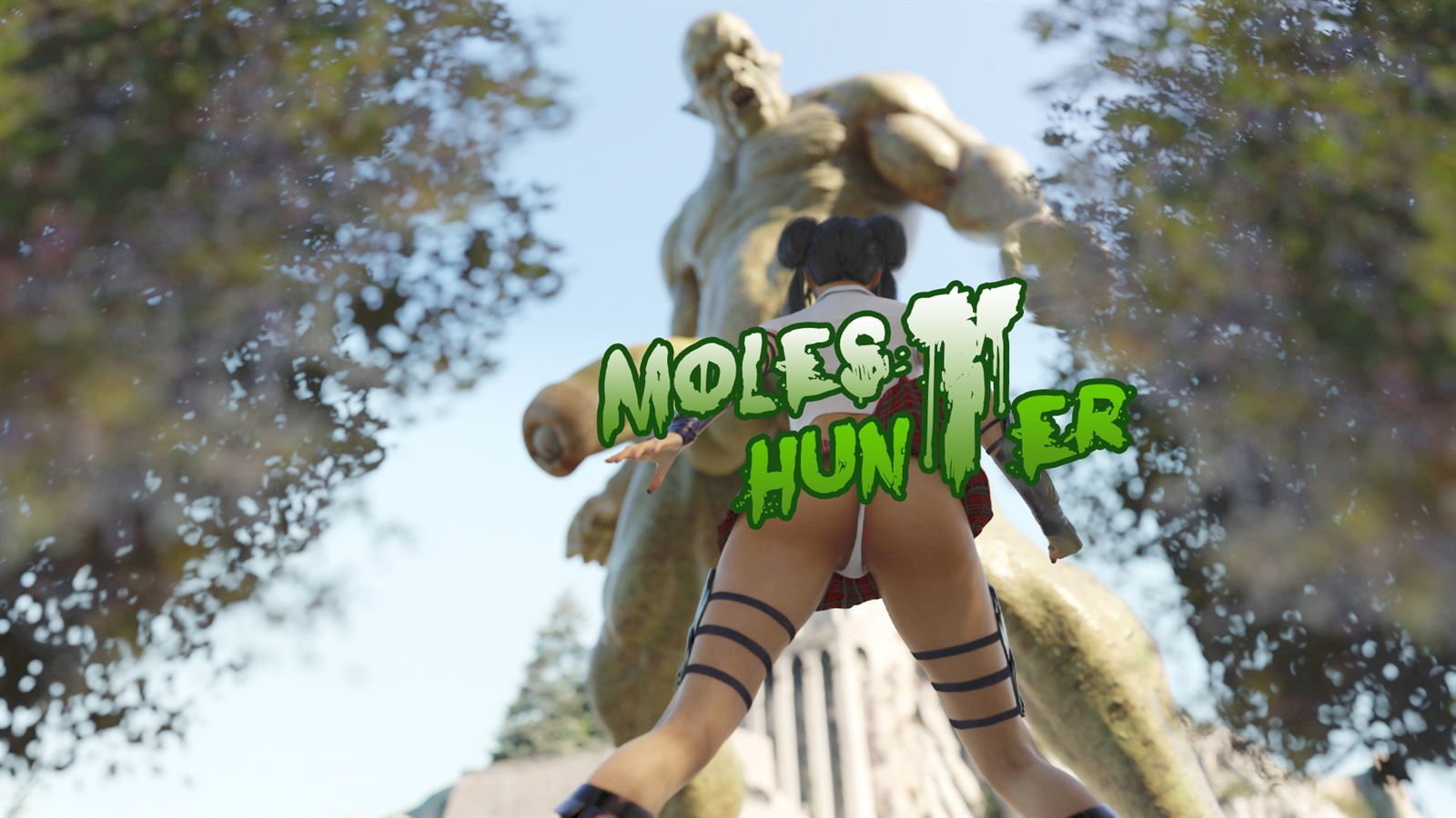 Molest Hunter Adult Game Cover