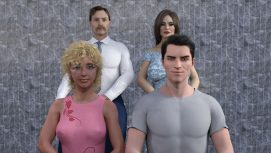 Blackmailing The Family 18+ Adult game cover