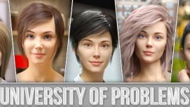 University of Problems 18+ Adult game cover