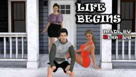 Life Begins 18+ Adult game cover