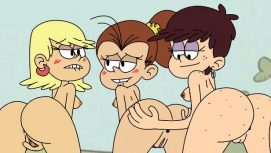The Loud House : Lost Panties 18+ Adult game cover
