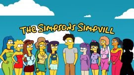 The Simpsons Simpvill 18+ Adult game cover