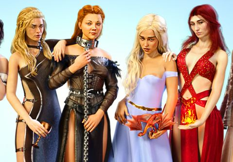 Whores of Thrones 2 Adult Game Cover