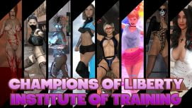 Champions of Liberty Institute of Training 18+ Adult game cover