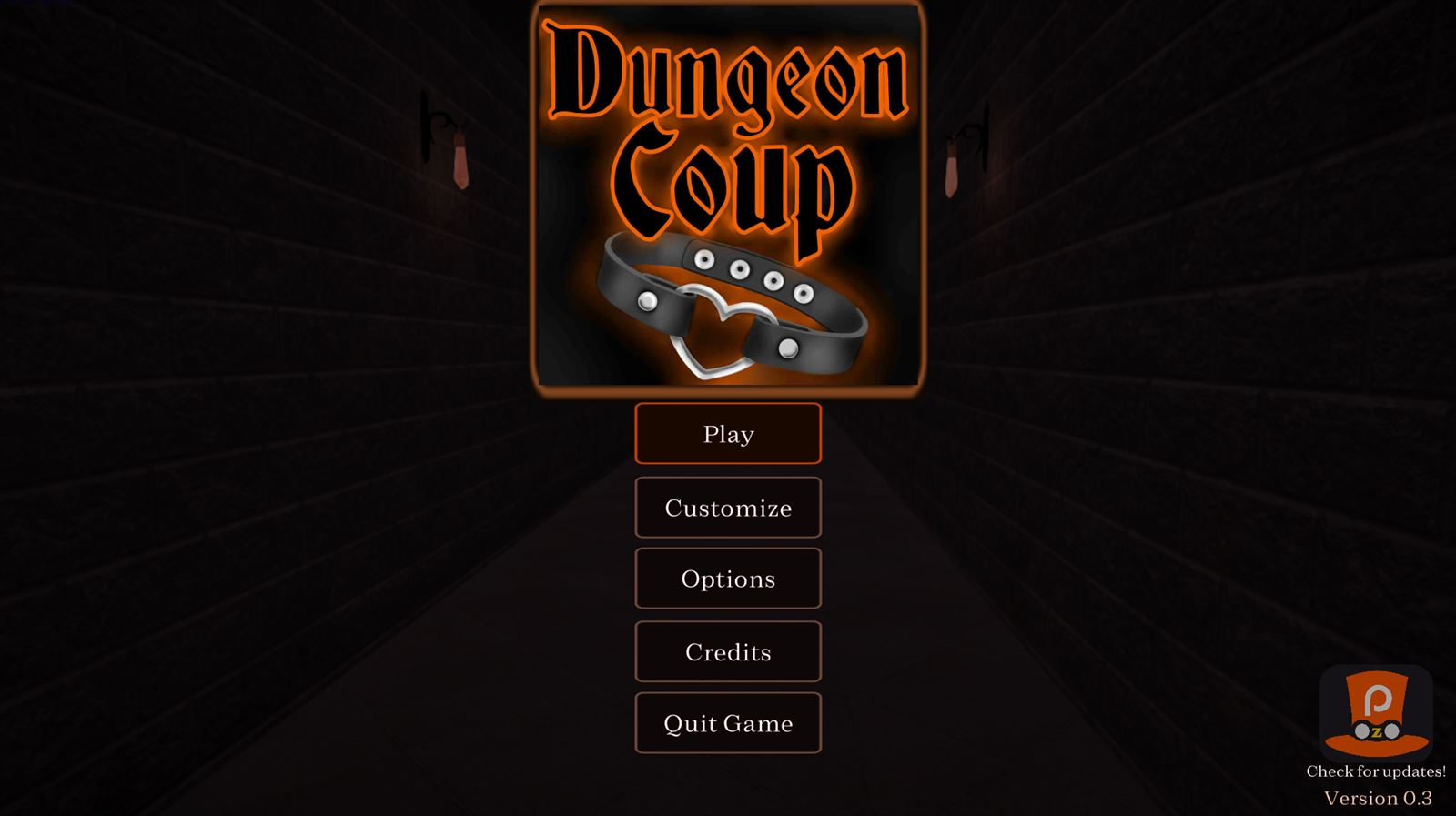 Dungeon Coup Adult Game Cover