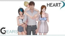 Heart Gears 18+ Adult game cover
