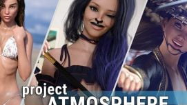 Project ATMOSPHERE 18+ Adult game cover