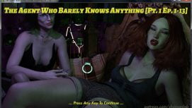 The Agent Who Barely Knows Anything 18+ Adult game cover
