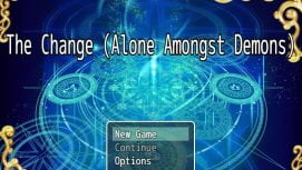 Alone Amongst Demons: The Change 18+ Adult game cover