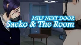 Milf Next Door: Saeko And The Room 18+ Adult game cover