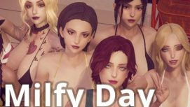 Milfy Day 18+ Adult game cover