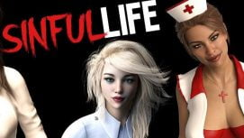 Sinful Life 18+ Adult game cover