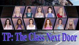 TP: The Class Next Door 18+ Adult game cover