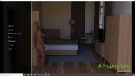 A Happy Life 18+ Adult game cover