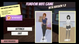 Femdom Wife Game 18+ Adult game cover
