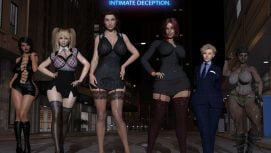 Intimate Deception 18+ Adult game cover