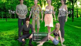 Life Of A Family 18+ Adult game cover